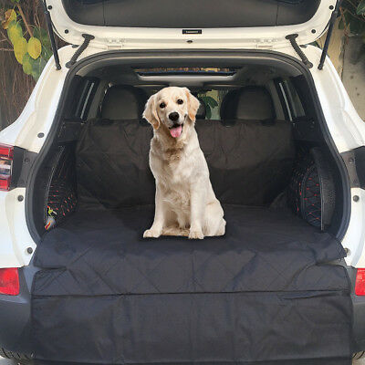 US 78*42'' Black Car Pet Dog Cargo Boot Mats Liner Cat Tear-Waterproof Cover Kit