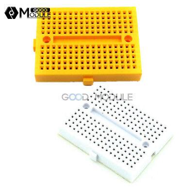 170 Tie-points Yellow Shield White Solderless Prototype Breadboard For Arduino
