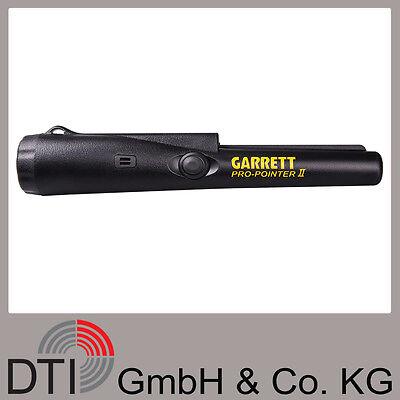 Garrett PRO-POINTER II Handdetektor, Metallsonde, Punktortung