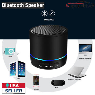 Portable Bluetooth Wireless Super Bass Mini Speaker for Cell Phone Tablet PC Car