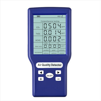 Co2 Ppm Meters Gas Analyzer Mini Carbon Dioxide Detector Air Quality Tester