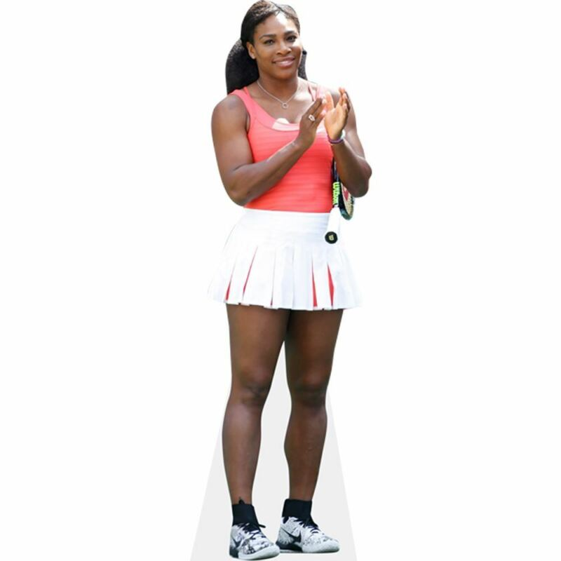 Serena Williams (Tennis Outfit) Life Size Cutout