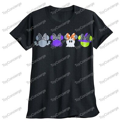 DISNEY Store TEE for Women HALLOWEEN 2017 MINNIE MOUSE TShirt Choose Size NWT](Halloween Tshirts For Women)