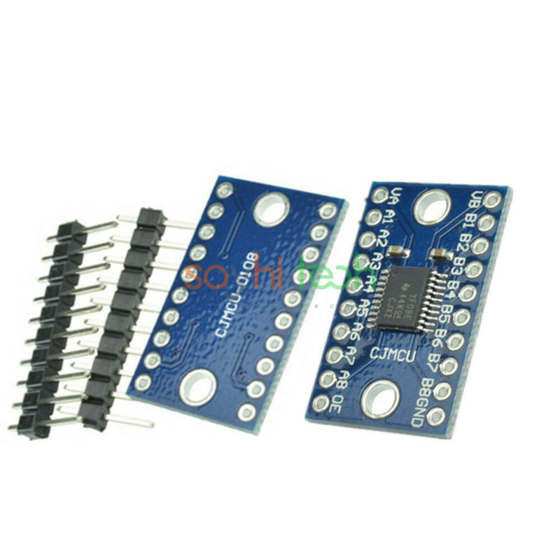 8 Channel 8 Bit Logic Level Bi-directional Converter Module TXB0108 for Arduino