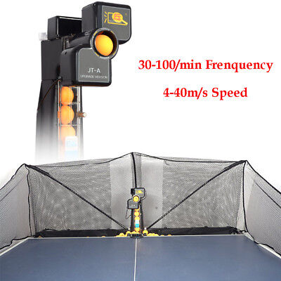 New Ping Pong Ball Train Machine Automatic Table Tennis Robot 50W Adjustable US for sale  Rowland Heights