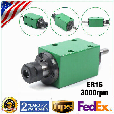 Er16 Spindle Unit 3000rpm Power Head 10mmx40mm For Cnc Drilling Milling Machine