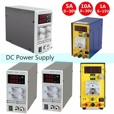 5a10a 30v Variable Precision Switching Dc Power Supply Adjustable Digital Lab J