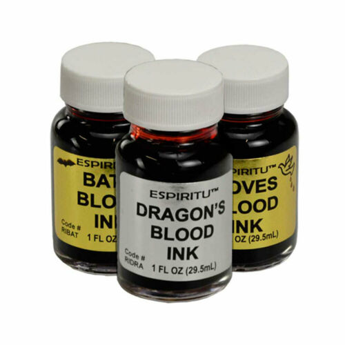 Set of 3 Ritual Inks by Espiritu 1 oz Bottle of Dragon