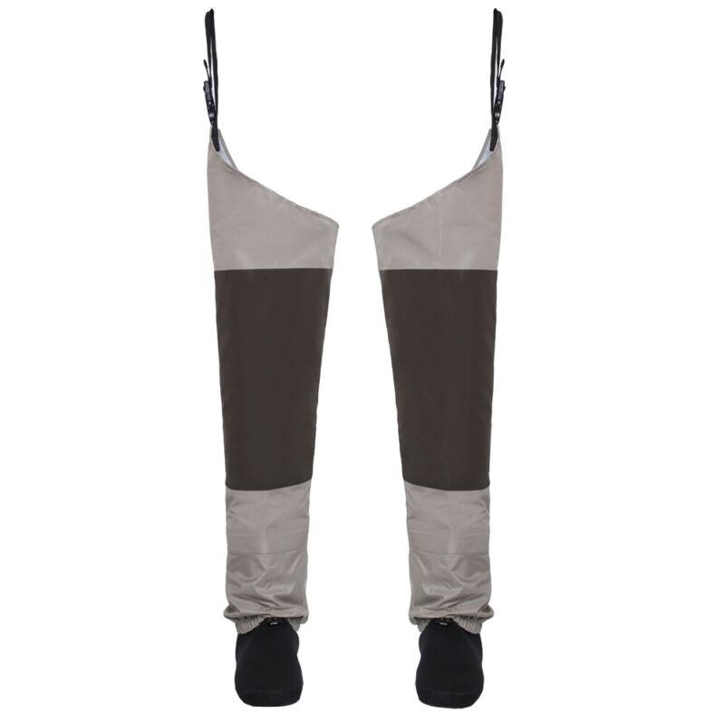 Fishing Hip Waders Waterproof Breathable Leg Pants Stockingfoot Thigh Wader