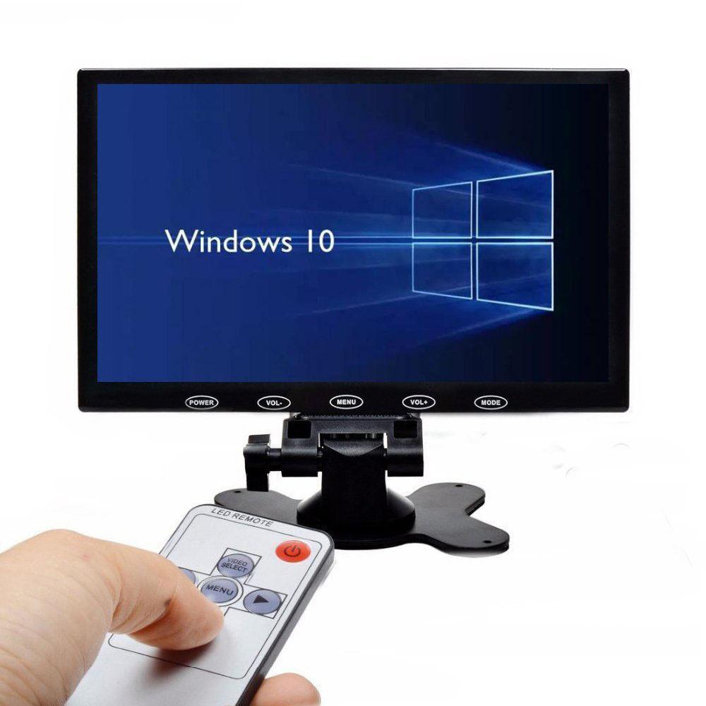 "US- 10"" / 7"" CCTV Monitor PC Screen AV RCA VGA HDMI 1080p fo"