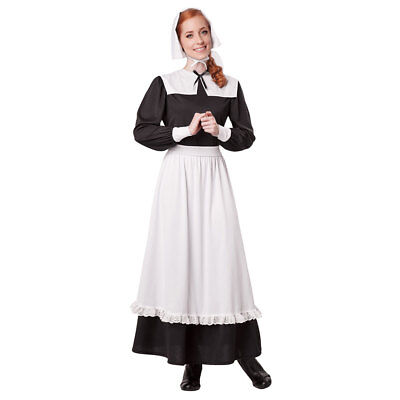 Womens Pilgrim Colonial Halloween Costume - Womens Colonial Costume