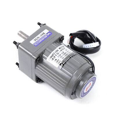 110 Gear Motor Electric Variable Speed Controller Single-phase 125rpm 110v New