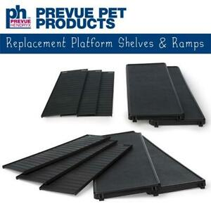 NEW Prevue Pet Products Replacement Platform Shelves  Ramps, Black Condtion: New
