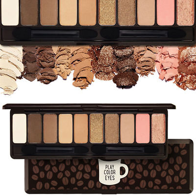 [Etude House] Play Color Eyes In The Cafe Eye Shadow 1g x 10 Shades / K-Beauty