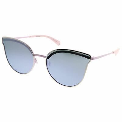 Polaroid PLD 4056/S 3YG MF Light Gold Sunglasses Purple Mirr