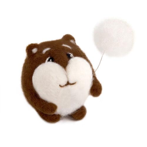 """""""Hamster"""" Wool  Kit for Felting WT-0133"""