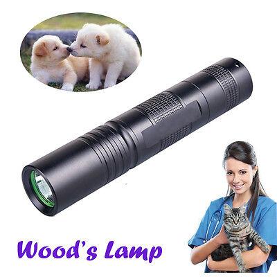 Handheld Pet Dog Cat Ringworm Eczema Wood Lamp UV Light Detector Wood's Lamp