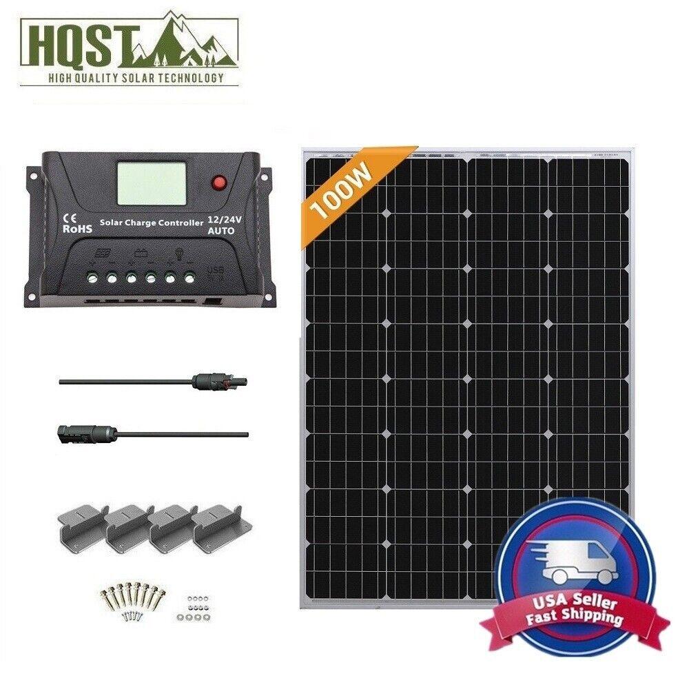 100 watt mono solar panel starter kit