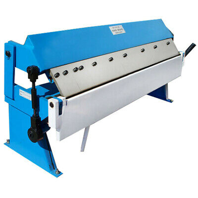 "36"" Fingers Pan Hand Brake Box Bender Bending 20 Gauge Steel"