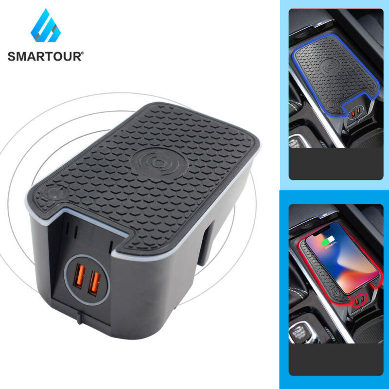 Wireless Car Charger Car Phone Charger Fast Charging For Volvo S90 XC60 XC90 V90