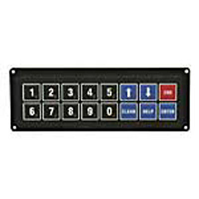 Act Components 07-30009-000 16 Key Membrane Switch Keypad 2 Rows X 8 Columns