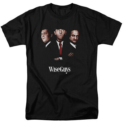 Three Stooges T-Shirt Wise Guys Portrait Black Tee Wise Guy T-shirt
