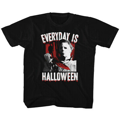 Halloween Mike Myers Everyday Kids T Shirt Toddler Boy Tee Youth Top 2T-20 Years