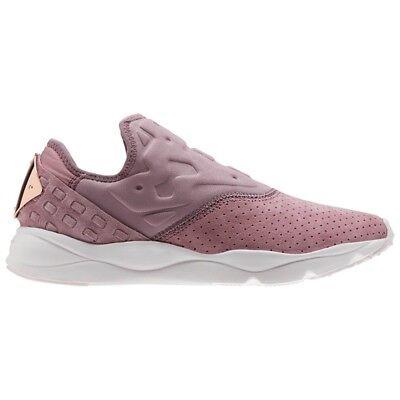 Reebok Furylite Slip On Fbt (SMOKY ORCHID/LILAC ASH) Women's Shoes BS6412 Ash Slip On