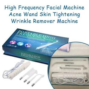 NEW High Frequency Facial Machine Acne Wand Skin Tightening Wrinkle Remover Machine Condtion: New