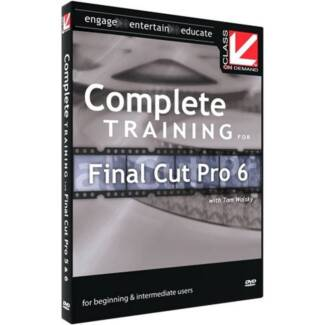 Complete Training for Final Cut Pro ( 5 Discs )