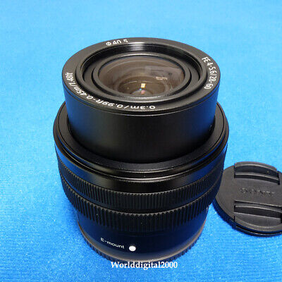 New SONY FE 28–60mm F4–5.6 SEL2860 For Full Frame Camera Sony A7C Dust Resistant