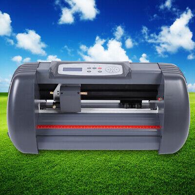 14 Vinyl Cutter Sign Cutting Plotter Machine 370mm Printer Sticker Usb Port Us