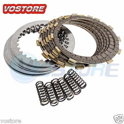 Clutch Repair Kit With Discs Plates Springs for Honda TRX 450R 2004 (Trx450r Clutch)