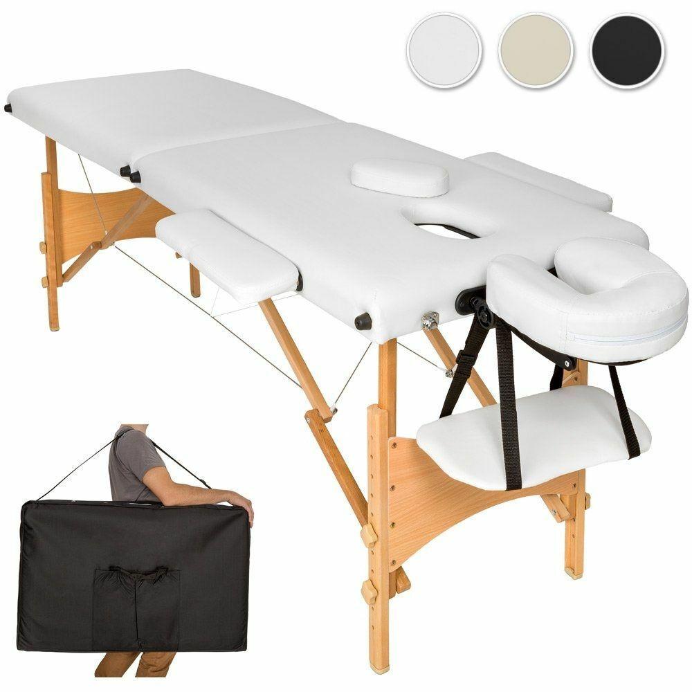 Esthétique Kiné Housse Lit sur Portative Détails De Massage Pliante 3 Banc Soins Zones Table SUMpGVqz