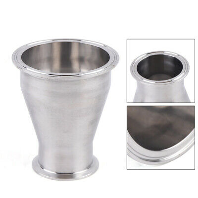 2.5x4 Sanitary Concentric Reducer Tri Clamp Clover Stainless Steel 304 Sale