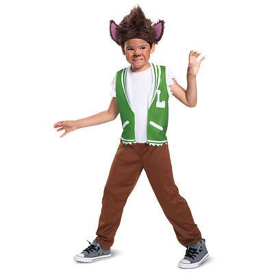 Netflix Super Monsters Lobo Howler Classic Small 4-6 Child Costume - Lobo Halloween Costume