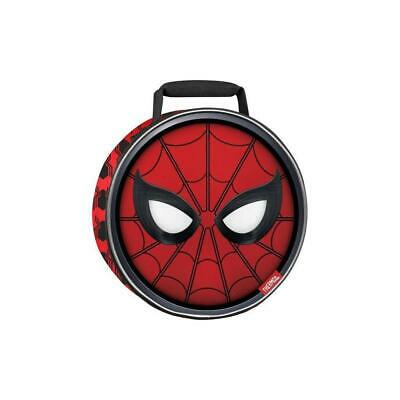 Thermos Spider-Man Round Lunch Bag - Red