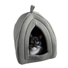 Cat Igloo Small Light Gray - USED