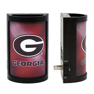Georgia Bulldogs Night Light Light Sensing Georgia Bulldogs Red Light