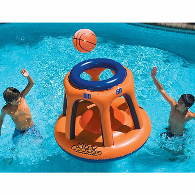 Inflatable Giant Basketball Hoop Water Sports Swimming Pool Lake Game Toys Kids