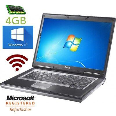 "DELL LATiTUDE D630 D620 C2D 2GHz 14"" WINDOWS 10, DVD, WiFi, 4GB RAM 14"", usado segunda mano  Embacar hacia Mexico"