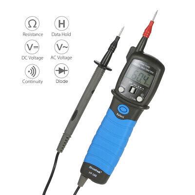 Mini Digital Voltmeter Ammeter Ohmmeter Multimeter Volt Ac Dc Tester Meter L0z7