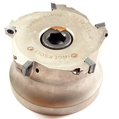Ingersoll Indexable Face Mill 4 X 1.50 Bore 5h6g-40k10 3019753