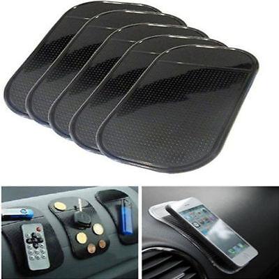 5pcs Car Magic Dashboard Sticky Pad Cell Phone Anti-Slip Non-slip Mat Holder GPS