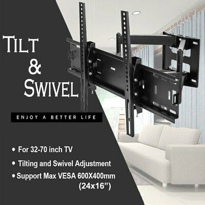 TV Wall Mount Swivel Tilt Bracket 32 42 47 51 55 60 65 70 75 80 inch Flat Screen Flat Screen Tv Wall Mounts