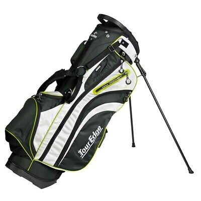 NEW Tour Edge Hot Launch 3 HL3 6-Way Stand / Carry Bag Black / Silver / Lime