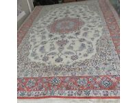 Persian carpet rug, furniture