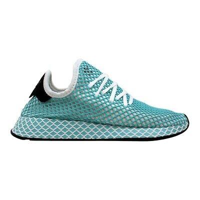 Adidas CQ2908 Deerupt Runner Women's Running Shoes Sneakers Blue CQ2908