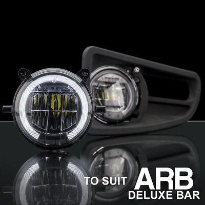 ARB Deluxe Bullbar LED Fog Light with DRL Upgrade Kit STEDI