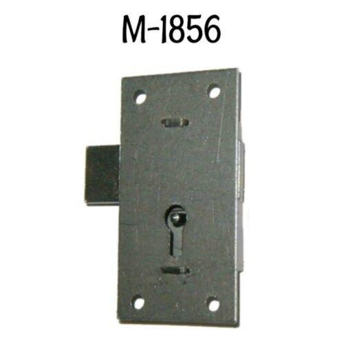"""Flush Mount Cupboard Lock with Key - 3"""" - Steel - Cabinet Lock"""